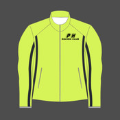 PHRC Black HiViz Reflective Womens Running Jacket